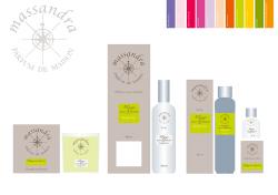 Création d'une gamme de parfum pour la maison