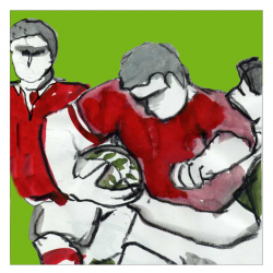Illustration rugby